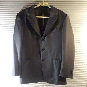 Ermenegildo Zegna Wool Stripe Switzerland Blazer